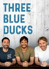 Three Blue Ducks